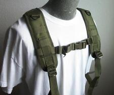 CONDOR MOLLE 215 H-Harness Nylon Suspenders for Battle Belt OLIVE DRAB OD Green