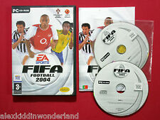 FIFA Football 2004 + Total Club Manager 2004 Demo PC CD-ROM Portugal Ver. Rare