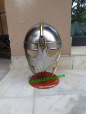 Medieval Viking Valas Guards Armour Helmet With Stand