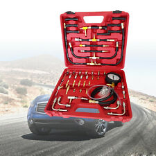 0-10 Bar BenzinDruck prüfer Drucktester Kompression Messer Werkzeug mit Box