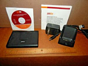 PalmOne 3169WW Universal Wireless Keyboard & Palm 180-10022-01 Charging Cradle