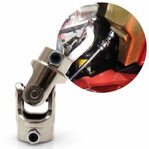 """Street Rod 3/4"""" - 36 x 1"""" DD Set Screw Style U Joint rag spline rod steering"""