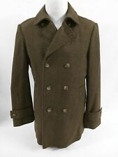 Tommy Hilfiger Mens Size 36R Brown Mid Length Trench Rainwear Coat