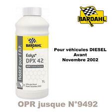 1052 Bardahl EOLYS DPX42 Véhicules avant novembre 2002