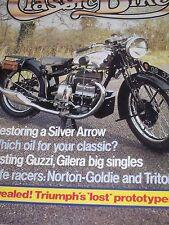 Classic Bike 04/82 Triumph's Lost Prototypes,Making The Trident Win,Guzzi Gilera