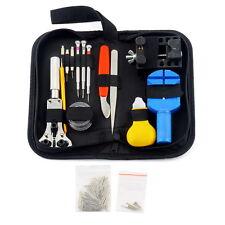 144 Pcs Watch Repair Kit Case Opener Pins Link Remover Spring Bar Tool Set LO