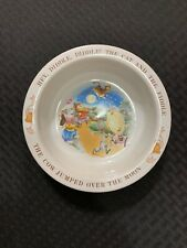 """Avon Baby Keepsake Bowl """"Hey Diddle Diddle The Cat And The Fiddle� Excellent!"""