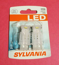 NEW - Sylvania 3156 Premium LED Light Cool White Replacement Bulbs 3155