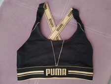 Puma black bralette. Fitness wear