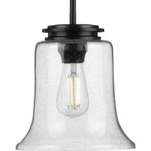 Progress Lighting P500238-031 Winslett Mini Pendant Matte Black