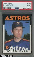 New listing 1986 Topps #100 Nolan Ryan Astros HOF PSA 9 MINT