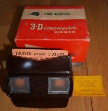 VIEWMASTER VIEWER ORIGINAL 50s MODEL E BAKELITE BOXED  RETRO