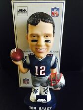 TOM BRADY Patriots BOBBLEHEAD 2002 MBNA VISA STADIUM PROMOTION ROOKIE RARE BOX!