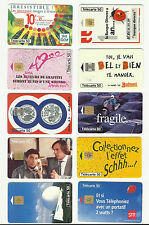 France Advertising Collectable Phone Cards