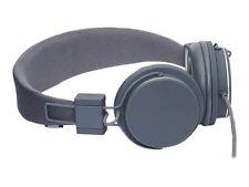 Dark Grey Urbanears Plattan Headphones With Inline Microphone -