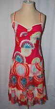 BCBG MAX AZRIA Floral Sun Dress Bright Multicolor Size 6