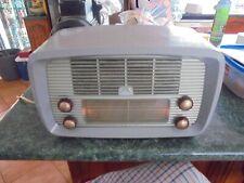 VINTAGE 1950S HMV VALVE RADIO /EXCELLENT IN WORKING ORDER