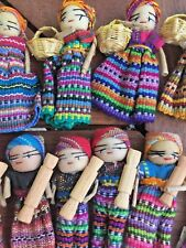 Guatemalan Worry Dolls Magnet x 10 for Art and Craft Bulk Lot lot 21