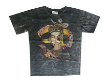 men t shirt short sleeve Yoga new Peace cotton Om Buddha Ganesha Zen m NO TIME