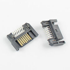 5Pcs Sata 7 Pin SMT SMD Male Date Adapter Connector For Hard Drive HDD