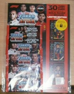 Topps F1 Turbo Attax 2020 Trading Cards 5 Packets Multipack Inc Limited Edition