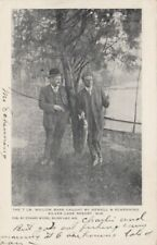 SILVER LAKE RESORT, Wisconsin, 1907 ; 7lb Willow bass caught