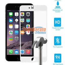 PROTECTOR VIDRIO TEMPLADO 3D PARA IPHONE 6 PLUS 5.5 pulgadas BLANCO ANTIGOLPE