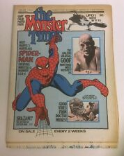 THE MONSTER TIMES 1972 SPIDERMAN ISSUE NO 13