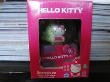 Sanrio Hello Kitty Snow Globe snowglobe pink purple christmas tree new in box