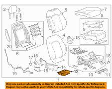 GM OEM Passenger Seat-Storage Tray 95078247