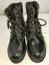 WRANGLER 46797 Men's Work Wear Steel Toe Black Boots Size 8.5