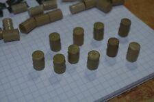 Tonneaux en plastique x 10 lot n° 1 guerre 39/45 échelle HO 1/76 ou 1/72