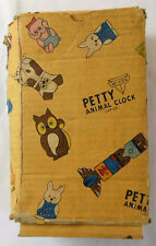 Vintage Mi-Ken Petty Animal Clock BOX ONLY