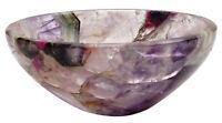 Spiritual Energy Hand Carved Amethyst Reiki Bowl Healing Gemstones Gift Bowls