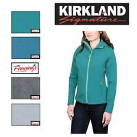 NEW Kirkland Signature Softshell Women's 4 Way Stretch Hooded Jacket VARIETY B25