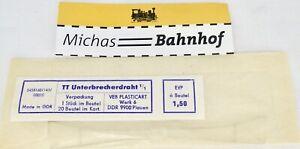 Overhead Line Unterbrecherdraht 1/1 Plasticart 5458160 1:87 Boxed LJ6 Å