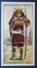 Japanese SAMURAI Warrior     Original Vintage 1920's Illustrated Card