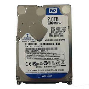 """Western Digital Blue 2TB WD20NPVZ 5400RPM 8MB SATA3 2.5"""" Hard Disk Drive 15mm"""