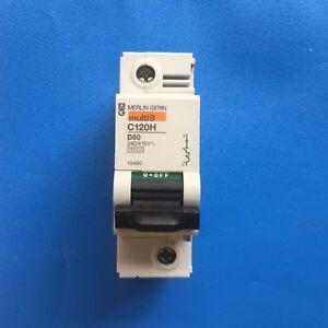 MERLIN GERIN C120H D80A 80 Amp  Mcb Type D Multi 9 Miniature Circuit Breaker