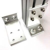 Floor L-Bracket for 4040 8080 Aluminum Profile Extrusion Accessory (2 Pieces)