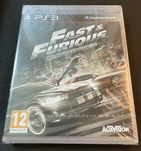 Fast and Furious Showdown PS3 New Sealed U.K. Playstation 3