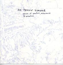 Au Revoir Simone – Verses Of Comfort, Assurance & Salvation CD 2005