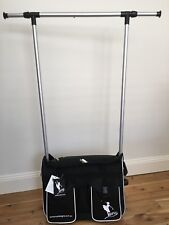AMD MINI PACK ' N ' HANG, Pull Along Bag with easy to assemble Hanging Rack