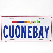 eBay Branded License Plate CUonEbay New eBayana Original Colors Logo Collectible