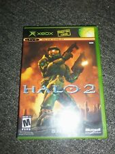XBOX Halo 2 Black Label Case and Manual ONLY