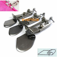 3 Sets Double Fold Clean Finish Hemming Folder Attachment For Sewing Machine
