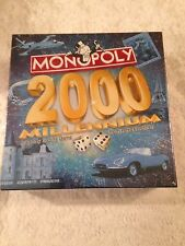 Monopoly 2000 Millennium Parker Brothers Property Trading Board Game New Sealed