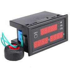 New 110220v80 300v0 100a Watt Digital Power Meter Voltage Volt Ampere Tester Ac
