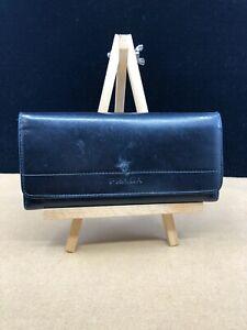 PR098 PRADA Black Saffiano Leather Large Bifold Wallet  NO RESERVE