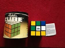 Original Rubik's Cube In Original Box With Instructions